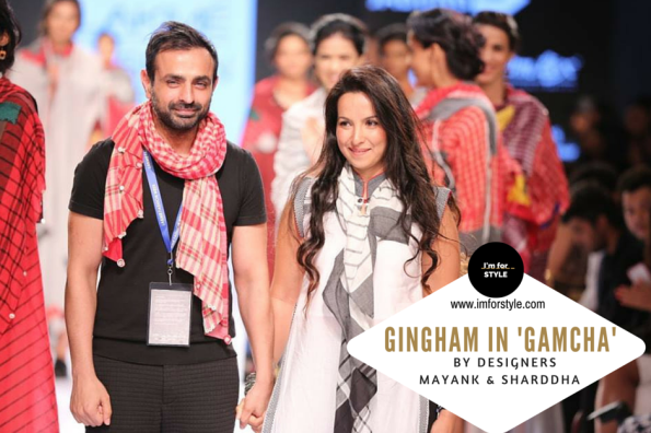 Designers in India bringing Indian Gingham-'GAMCHA' to centerstage.