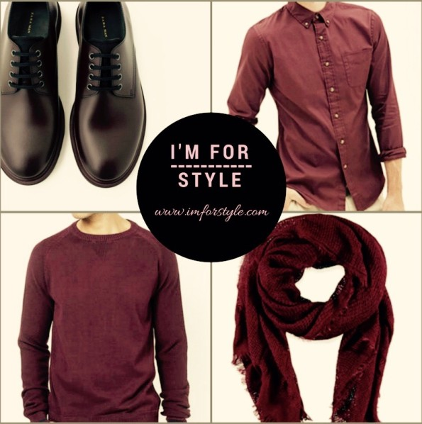 Go for anything Wine... Shoes-ZaraMan | Scark & Shirt- Forever21 | Knitted Sweater- Levis