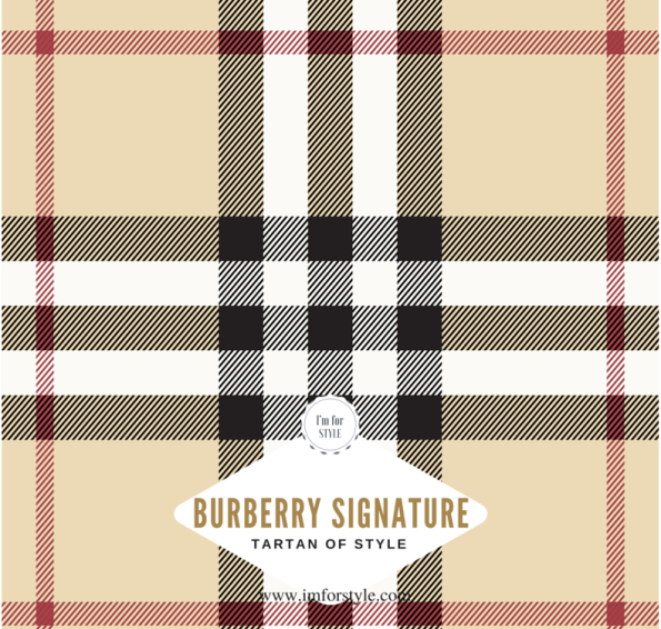 The iconic Burberry Check