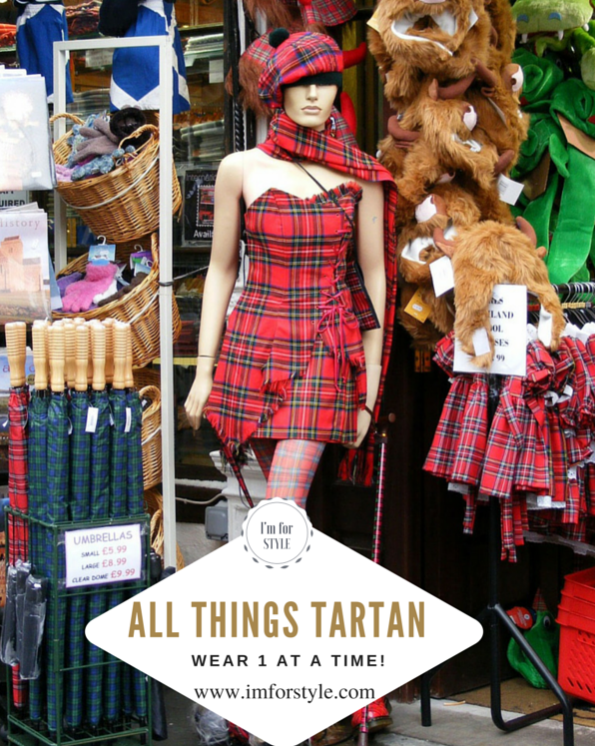 Tartan Overload! Please go for 1 at a time:-)