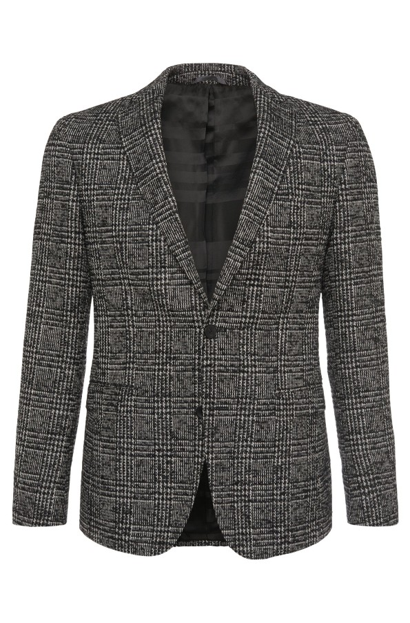 Hugo Boss-Glen plaid Blazer