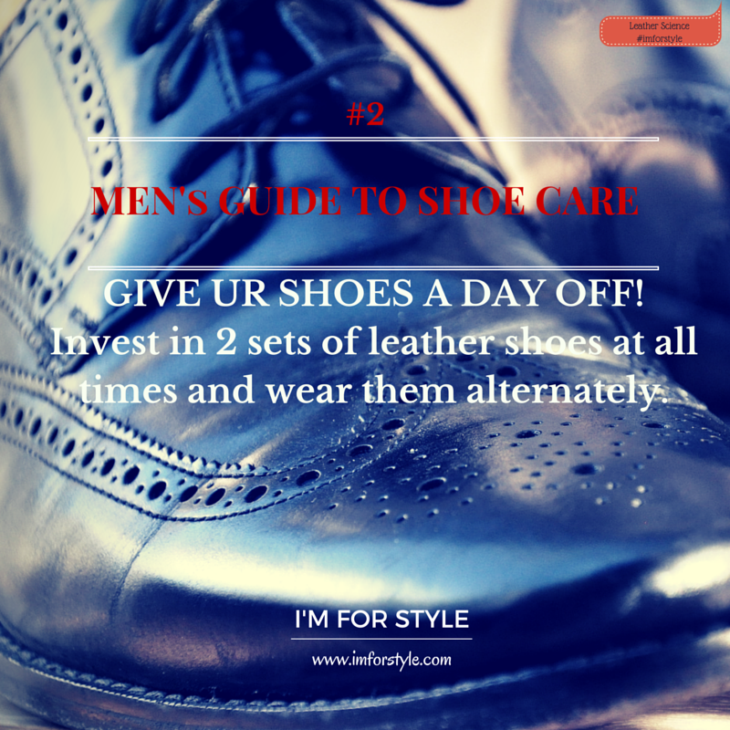 Leather shoe care, men shoe care, shoe care, men style blog