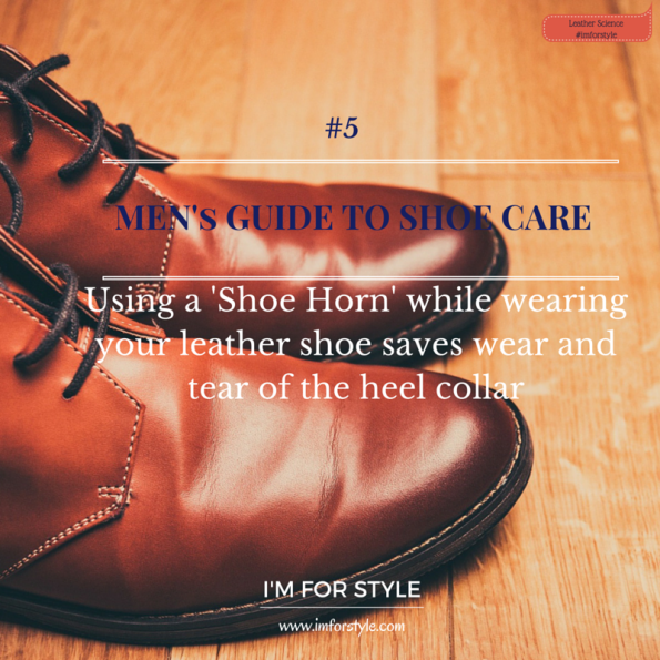 Leather shoe care, shoe care, men shoe, menswear, style