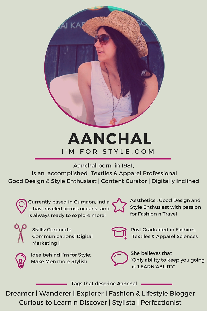 aanchal prabhakar jagga, imforstyle, digital marketing, corporate communications, blogger, men style blogger