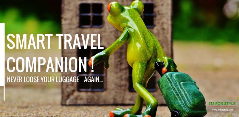 smart travel, luggage, samsonite, google, track & go,