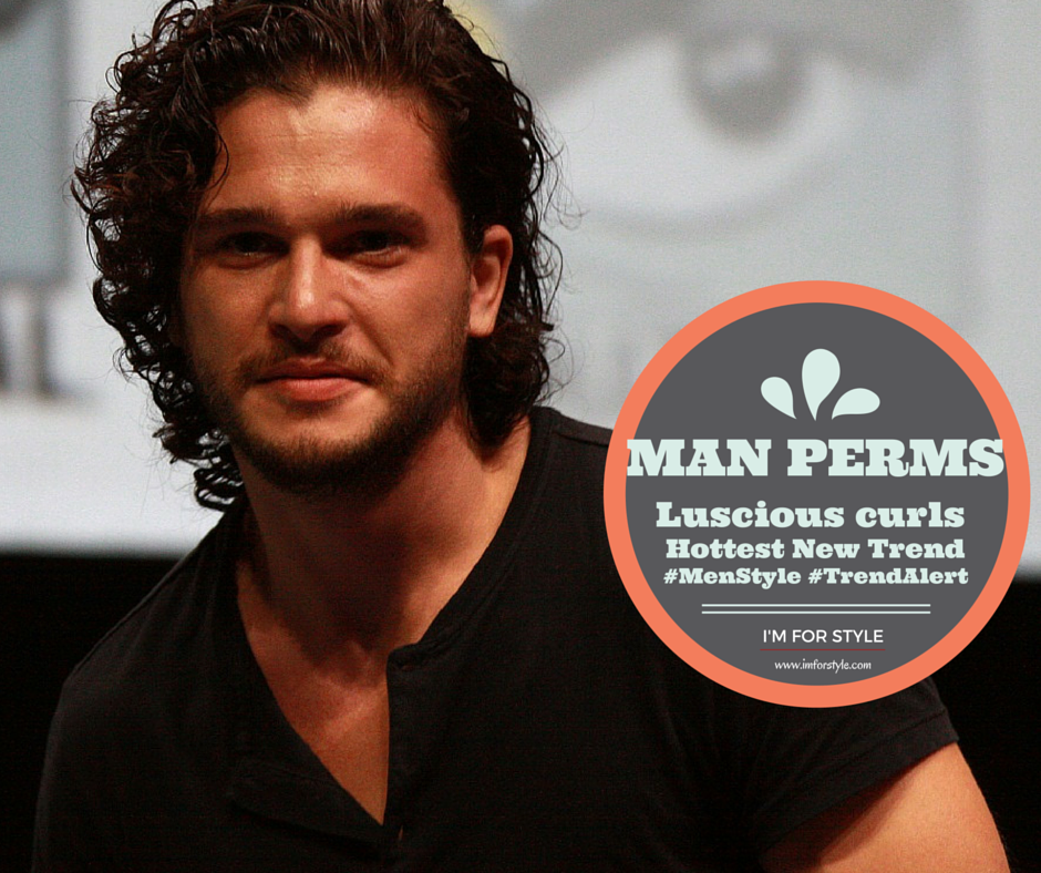 Man perms, hairstyle for men, merms, jon snow, game of thrones, imforstyle