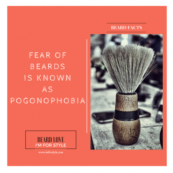 FEAR OF BEARDS IS KNOWN AS POGONOPHOBIA, Beard Facts, Movember, moustache, imforstyle, beards, men style, men style blog, grooming, hairstyles, aanchal prabhakar, menhairstyle, style evolution, men looks, beauty, bearded man, beard love, style, facts, did you know